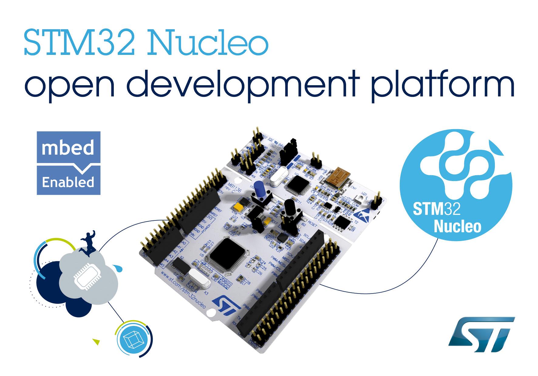stm32 mcu nucleo - stmicroelectronics