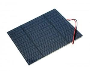 3W 5.5V 單晶矽 太陽能 電池板