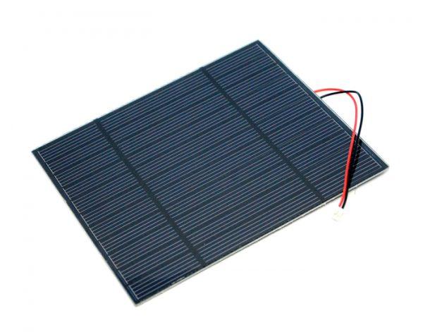 單晶矽太陽能電池板、太陽能板 5.5V 3W 138×160 mm2