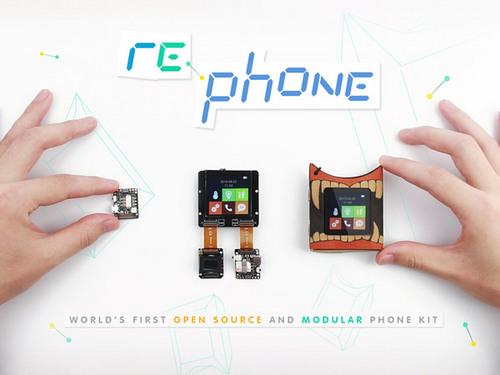 Seeed RePhone:全球首款開源模組手機