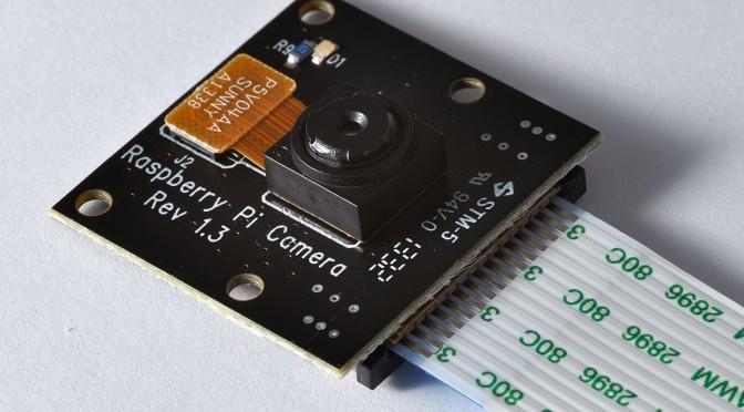 Raspberry Pi 攝像頭模塊應用程序文檔翻譯