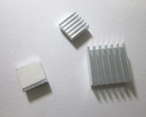 樹莓派 Raspberry Pi Model B+ / Pi2 三件式鋁鰭 散熱片