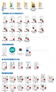Arduino 初學者學習套件 Arduino UNO R3 入門學習套件組 36 堂課程 加贈 4.3G 自學影音教學與資料