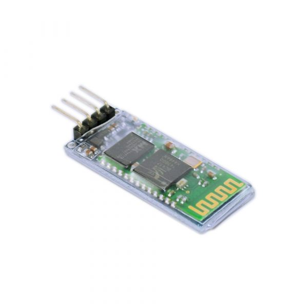 HC-06-Bluetooth-module-containing-transparent-transmission-plate-with-enable-and-status-output-wireless-serial
