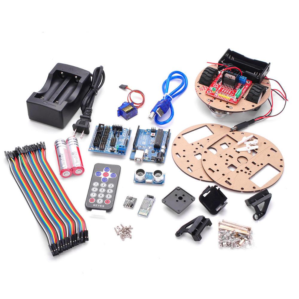 Arduino UNO R3 智慧小車