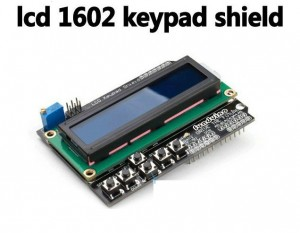 Arduino LCD Keypad Shield LCD 1602 液晶按鍵擴展板