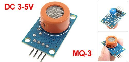 MQ-3 氣體傳感器 酒精蒸氣,乙醇