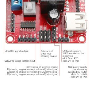 L298N 4路馬達驅動模組