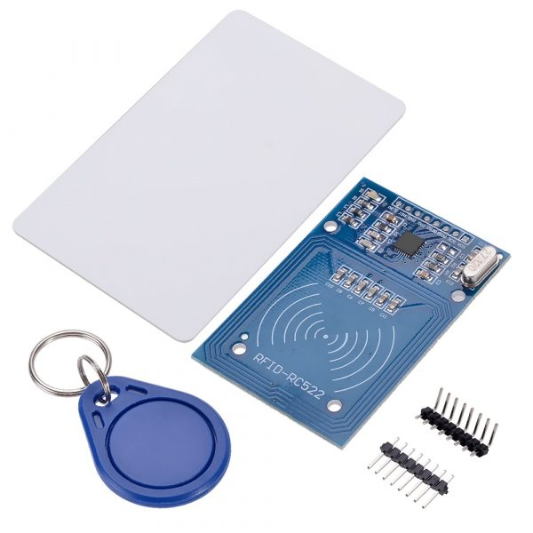 New-MFRC-522-RC522-Card-Read-Antenna-RFID-Reader-IC-Card-Proximity-Module-key-Chain-For
