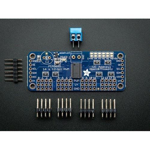 PCA9685 16路12-bit PWM控制板