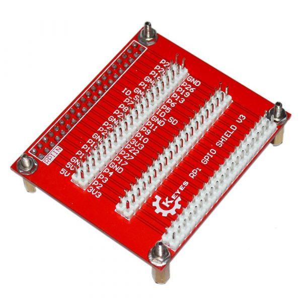 樹莓派3 代B+ 專用 GPIO擴展板V3