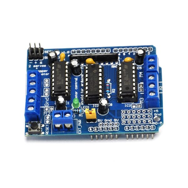 L293D 馬達驅動擴展板/Motor Control Shield for Arduino