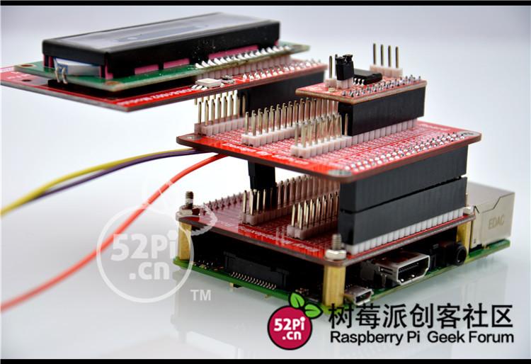 樹莓派3 代B+ 專用 GPIO擴展板V3 可堆疊