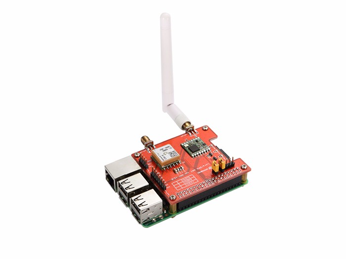 樹莓派 LoRa / GPS 擴展版