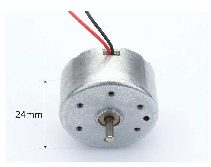 小型扁圓形直流馬達 5V