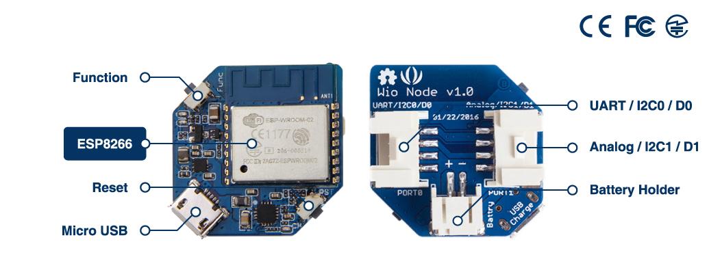 Wio Node 迷你 ESP8266 開發版