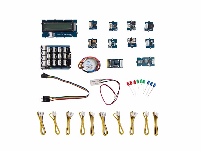 Seeed Grove Starter Kit for Genuino 101 入門實驗套件