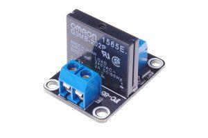 1路 5V 低電平固態繼電器模組 帶保險絲 SSR 固態繼電器
