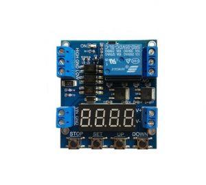 1路歐姆龍繼電器 可編輯繼電器模組 可設定延時斷電