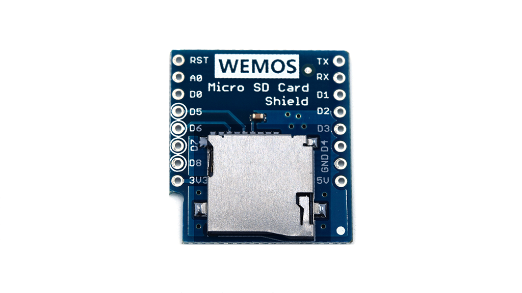 Micro SD Shield for WeMos D1
