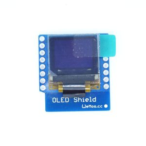 OLED Shield for WeMos D1 mini 0.66