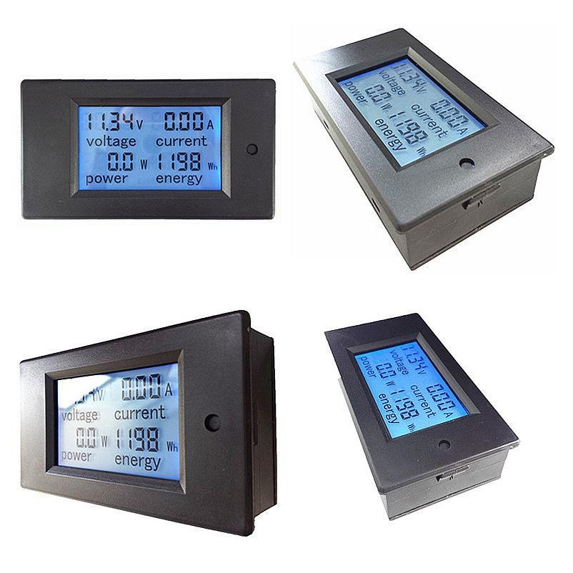 -DC-6-5-100V-100A-DC-Digital-LCD-Multi-functional-Meter-Module-Voltage-Current-Active