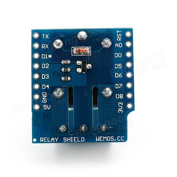 Wemos® DC 5V 1CH Relay Shield V2 Version 2 For Wemos D1 Mini ESP8266 WiFi Module
