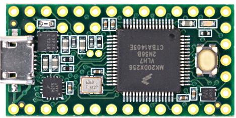 Teensy 3.2 ARM Cortex-M4 Dev Board
