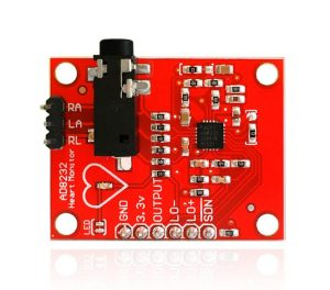 ECG Kit 心跳心電感測器