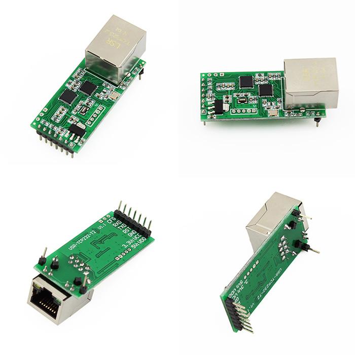 UART Serial Ethernet Modules