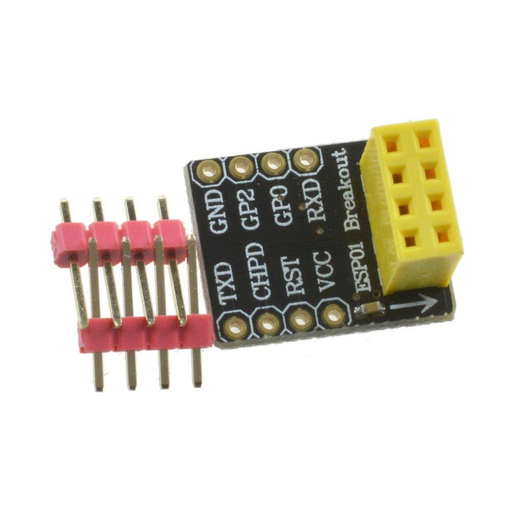 Esp8266 ESP01/01S 無線模組轉接板