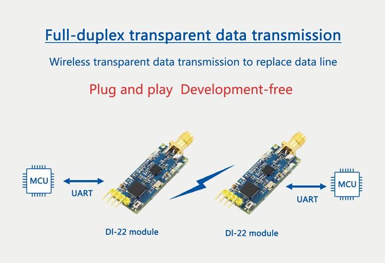2.4G zigbee CC2530 DL-22 無線串口收發模組
