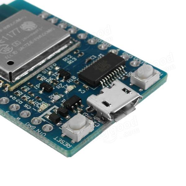 WeMos® D1 Nodemcu Wifi Internet Of Things ESP-WROOM-02 Development Board