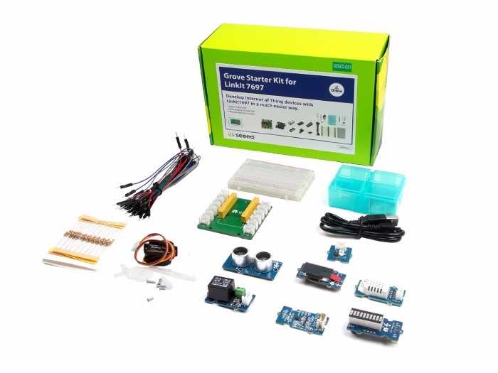 Grove Starter Kit for LinkIt 7697 入門套件