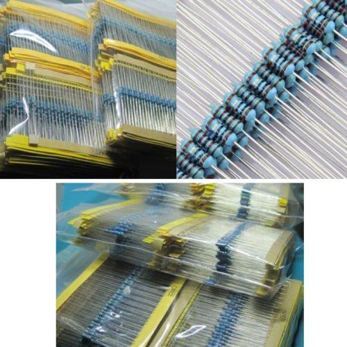 1/4W 五色環電阻 1%精密度 金屬膜電阻綜合包