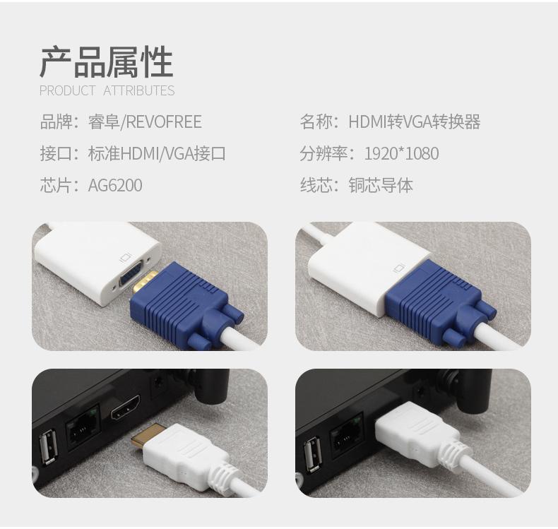 樹莓派專用 HDMI 轉 VGA