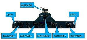 5路循跡感測器 帶碰撞、距離檢測功能