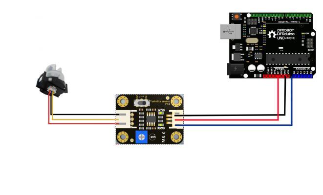 Arduino 水濁度感測器 水質 養殖環境監測