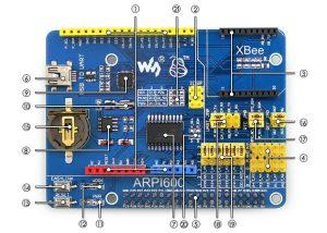 ARPI600 Raspberry Pi 轉 Arduino 轉接板