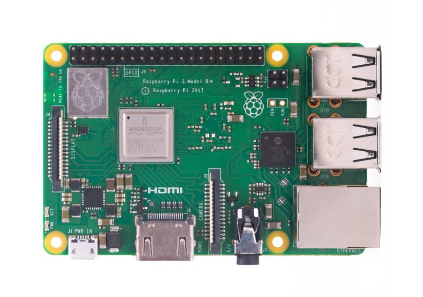 樹莓派 3代 Raspberry Pi 3 Model B+ 開發板