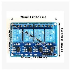 4路5V繼電器擴展板 帶光耦隔離