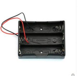 18650 電池盒 3 槽串聯電池盒