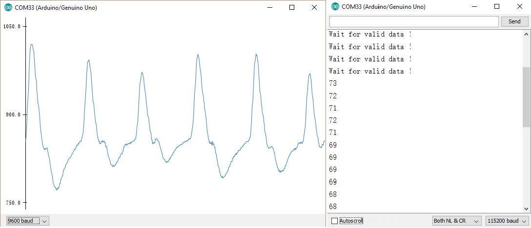 重力:用於Arduino數據測試的心率監測傳感器