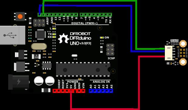 TCS34725 I2C RGB Color Sensor 顏色 傳感器 感測器 DFRobot原廠