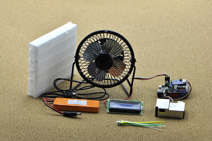 Laser PM2.5 Air Quality Sensor For Arduino 激光 PM2.5空氣質量傳感器