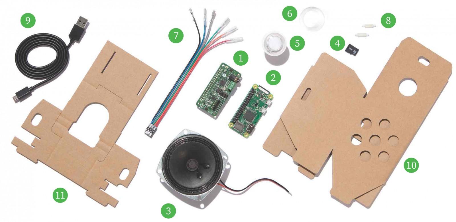 Google AIY Voice Kit V2.0 語音助理 套件