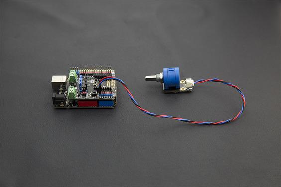 模擬旋轉電位器 Potentiometer Sensor V2