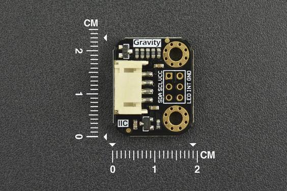Gravity: TCS34725 RGB Color Sensor For Arduino