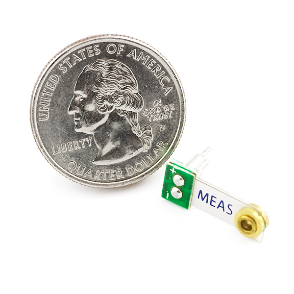 Piezo Vibration Sensor - Small Horizontal