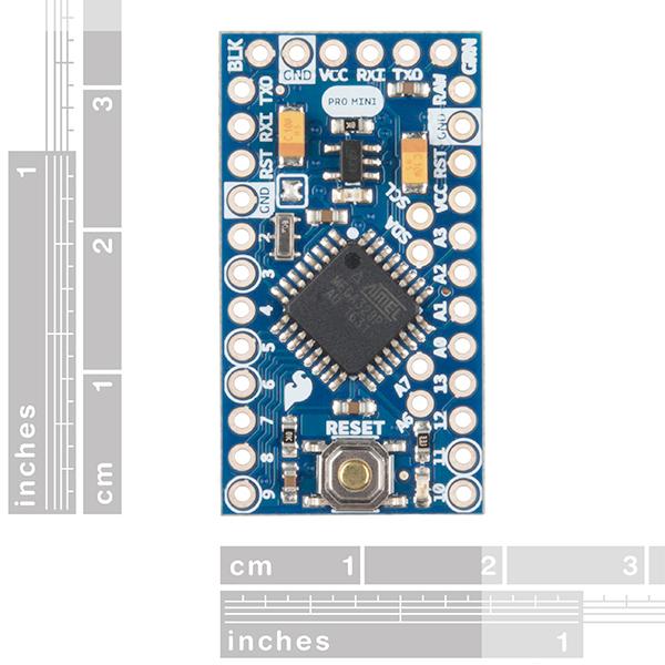 Arduino Pro Mini 328 - 3.3V / 8MHz